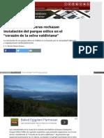 """Www_eldesconcierto_cl_santiago_no_es_chile_2016!02!17_Comunidades Costeras Rechazan Instalación Del Parque Eólico en El """"Corazón de La Selva Valdiviana"""""""