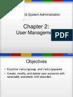 Chap2User Management