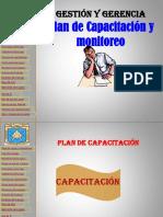 Plan de Capacitacion y Monitoreo-gestión Y gerencia