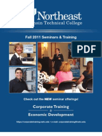 NWTC Corporate Training and Economic Development Fall 2010 Seminar Catalog