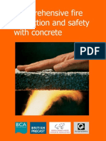 Comprehensive Fire Protection & Safety With Concrete