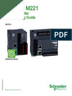 Modicon M221 Logic Controller Programming Guide En