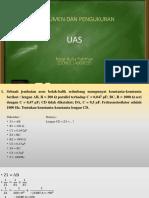 UAS Instrumen dan Pengukuran D3 Elektro Undip