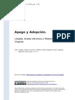 Apego y Adopción