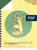 1966 Bridge Port Manual