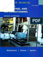 McQuiston HVAC Analysis Design 6th Solutions Parte1