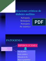 Complic Crónicas Diabetes Mellitus