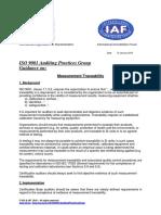 APG MeasurementTraceability2015
