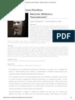 Jaime Sologuren - Nietzsche; Nihilismo y Transvaloración