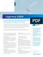Lagerway 80kW Remanufactured_refurbished Wind Turbines