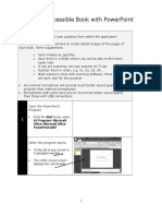 create an accessible book with powerpoint