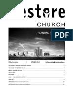 Restore Church Planting Prospectus
