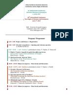 Konferenca - Program 2017