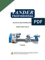 Manual -Torno TTM520