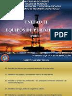 Unidad II Equipos de Perforación 2016 (Parte 1)