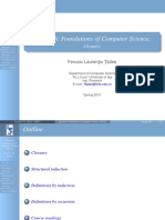 Fundamente Algebrice ale Informaticii (CURS I)