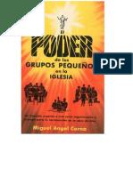 Poder Grupos peque+¦os CERNA