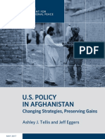 U.S. Policy in Afghanistan