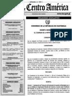 Decreto 2-2017 Convenio 175 OIT, aplicable en Guatemala