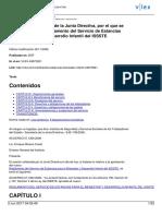 Reglamento Del Servicio de Estancias 2006