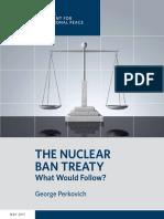 The Nuclear Ban Treaty