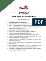 Manual Gerador