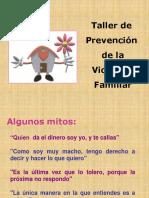 Mitos de la Violencia Familiar