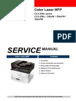 Samsung CLX-3305 Service Manual