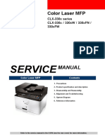 Samsung CLX-3305 Service Manual
