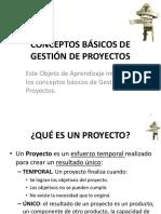 1.1.1 Conceptos Básicos de Gestión de Proyectos