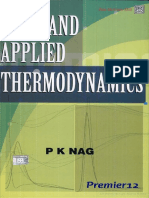Basic and Applied Thermodynamics - Pk Nag