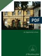 The St. Marylebone C.E. School Prospectus