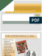 Lenguas Romance