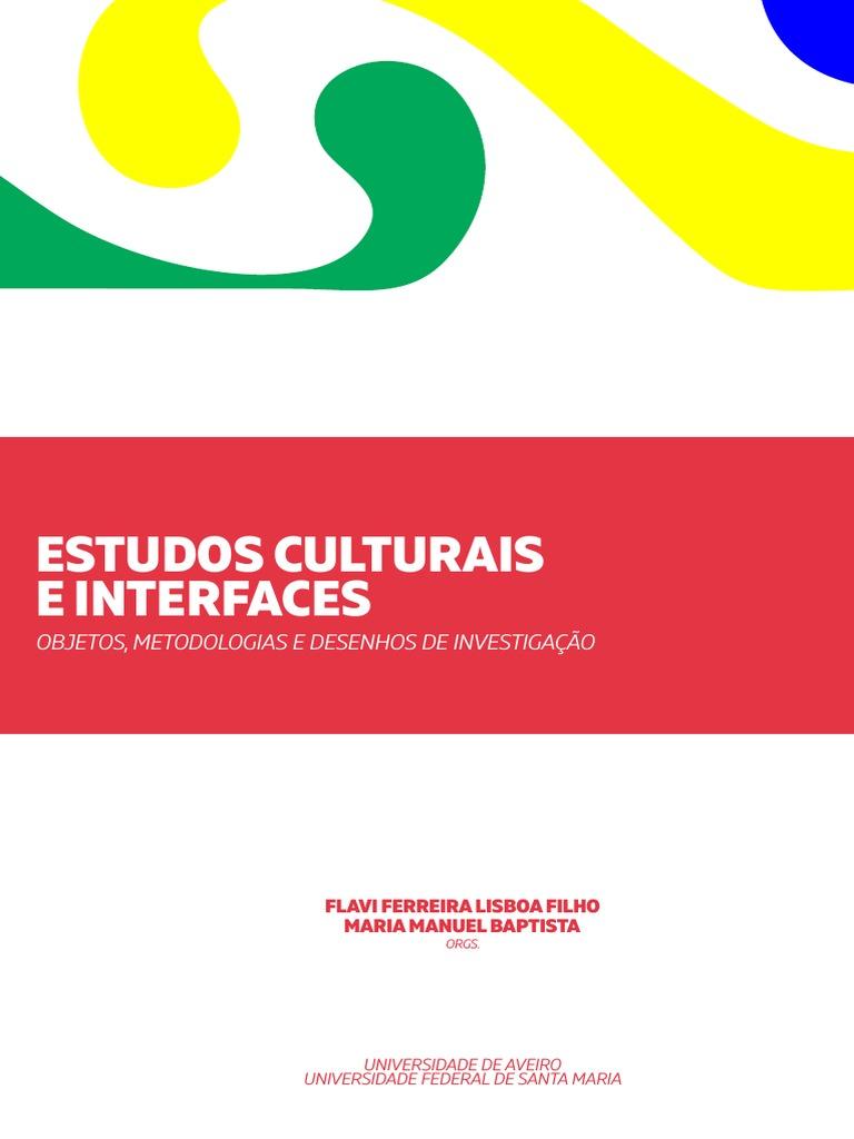 Estudos Culturais e Interfaces 2016 db271f0fac