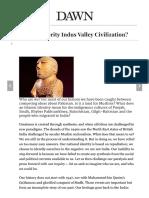Indus Valley - DAWN