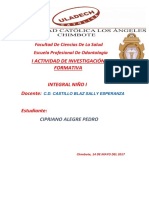 Investigacion Formativa Unidad 1