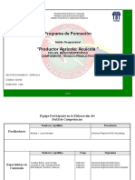 Programa de Formacion Productor Acuicola Inces