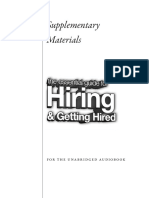 Guide for Hiring - Lou Adler