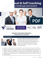 Professional & Self Coaching - Programa do IBC