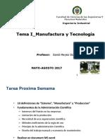 IND-240 -Tema I_Manufactura y Tecnologia