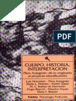 Cuerpo, historia, interpretación [Luis Hornstein] (1).pdf