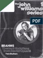 Brahms Opus 18