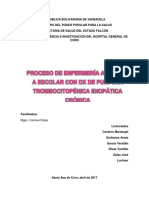 Caso Clinico Purpura Trombocitopenica Cronica