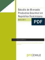 Estudio de Mercado de Productos Gourmet Para El Mercado de República Dominicana
