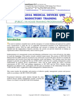 50.ISO13485 2016 MedicalDevices Introductory Training