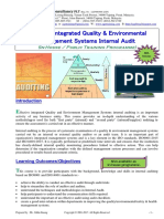 50.Effective Quality Environmental Mgmt Systems Internal Audit Course Outline