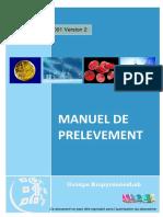 Manuel de Prelevement