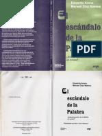 Eduardo Arens y Manuel Díaz Mateos - El Escándalo de La Palabra; CEP 1997
