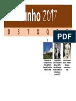 Calendário Negro - Junho 2017