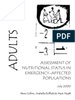 Assesment of Nutritional Status in Emergency-Affected Populations